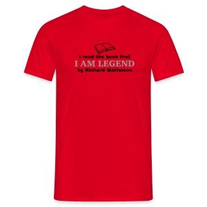 I Am Legend (Read Book) Various Colours - Men's T-Shirt
