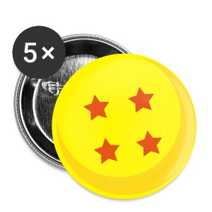 Chapas Balls of Dragon - Chapa mediana 32 mm