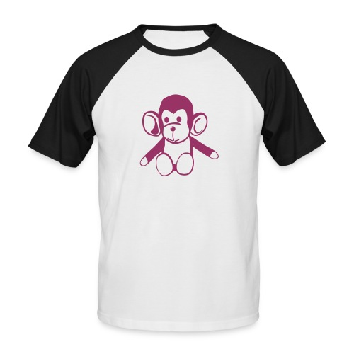 puto mono - Camiseta béisbol manga corta hombre