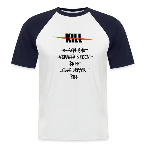 Camiseta Kill Lista 6 - Camiseta béisbol manga corta hombre