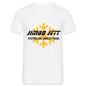 Jimbo Jett T-shirt (white/yellow) - Men's T-Shirt