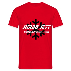Jimbo Jett T-shirt (red) - Men's T-Shirt