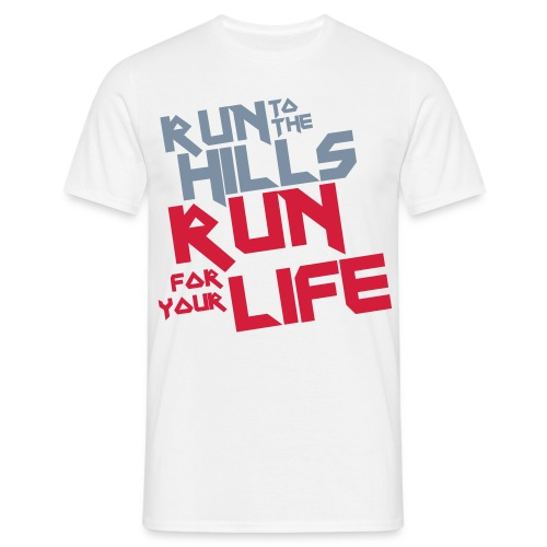 Camiseta Run To The Hills - Camiseta hombre