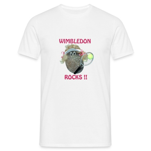 Tennis Rocks - Men's T-Shirt