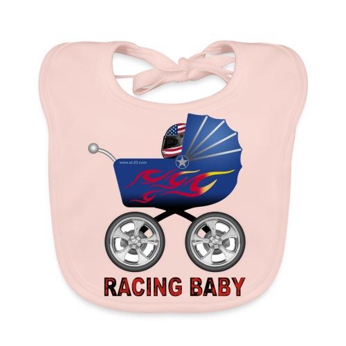 Racing Baby Bib - Baby Organic Bib