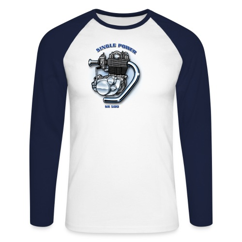 SINGLE Baseball Sleeve - Männer Baseballshirt langarm