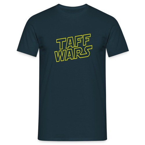 Taff Wars NAVY comfort t-shirt - Men's T-Shirt