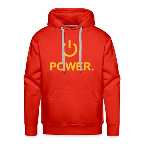 power hoodie - Men's Premium Hoodie