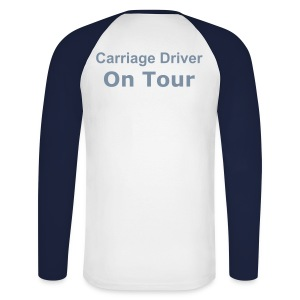 Carriage Driving Promodoro Raglan Longsleeve - Men's Long Sleeve Baseball T-Shirt