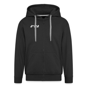 DTA Hoody (Black) - Men's Premium Hooded Jacket