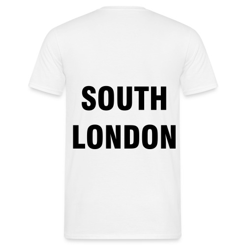 SOUTH LONDON T-SHIRT (WHITE) - Men's T-Shirt
