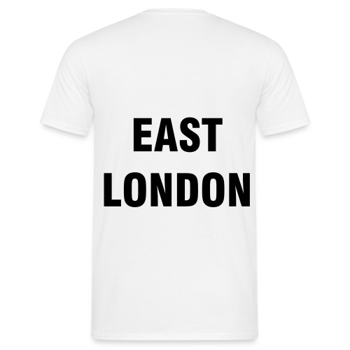 EAST LONDON T-SHIRT (WHITE) - Men's T-Shirt