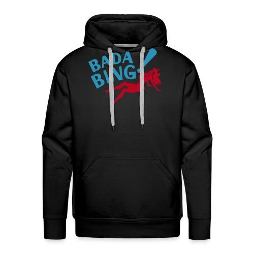 Bada Bing hoody capuchontrui mannen - Mannen Premium hoodie