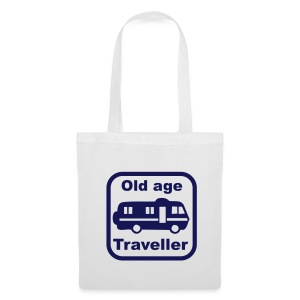 Old Age Traveller - Tote Bag