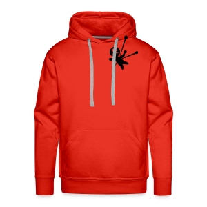 Sweat Jump With The Devil - Sweat-shirt à capuche Premium pour hommes