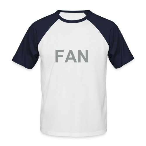 FAN - Männer Baseball-T-Shirt