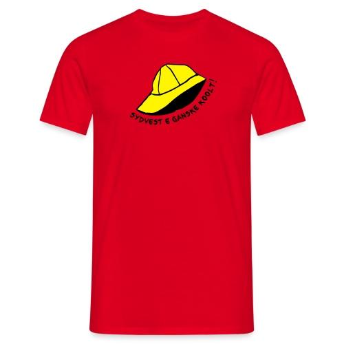 Sydvest e Koolt! (Gutt) - T-skjorte for menn