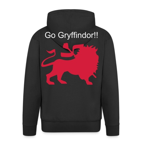 Gryffindor Jersey - Men's Premium Hooded Jacket