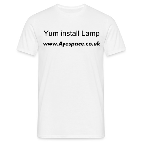 yum install Lamp - Men's T-Shirt