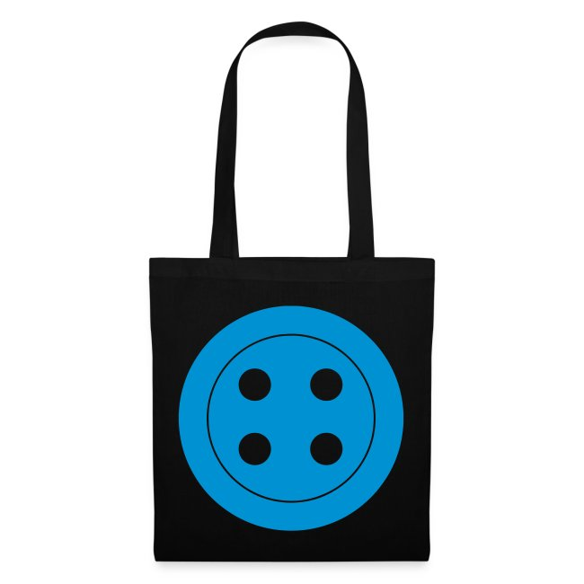 Retro Button Canvas Bag