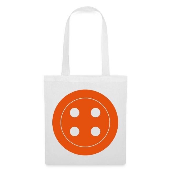 Retro Button Canvas Bag