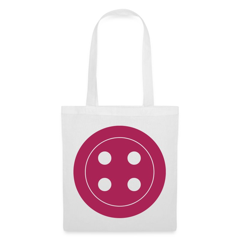 Retro Button Canvas Bag - Tote Bag