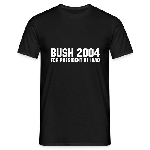 Bush 2004 - Männer T-Shirt