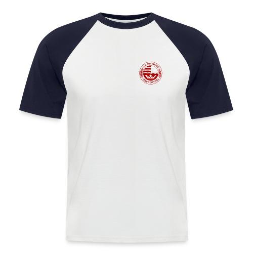 Trikot-Shirt (rot-weiß-Logo) - Männer Baseball-T-Shirt