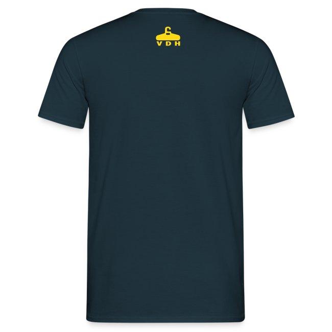 Geen kaas van gegeten t-shirt
