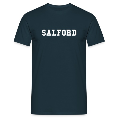 SALFORD : Navy Blue - Camiseta hombre
