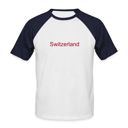 switzerland.2 - T-shirt baseball manches courtes Homme