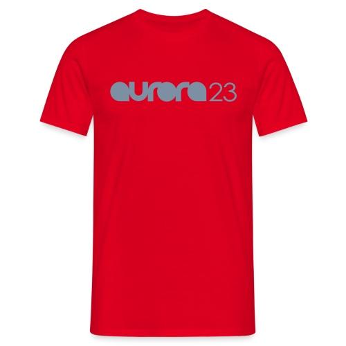 Mens Aurora23 Silver Logo Tee - Men's T-Shirt