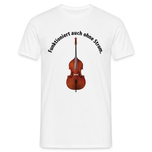ohne Strom - Männer T-Shirt