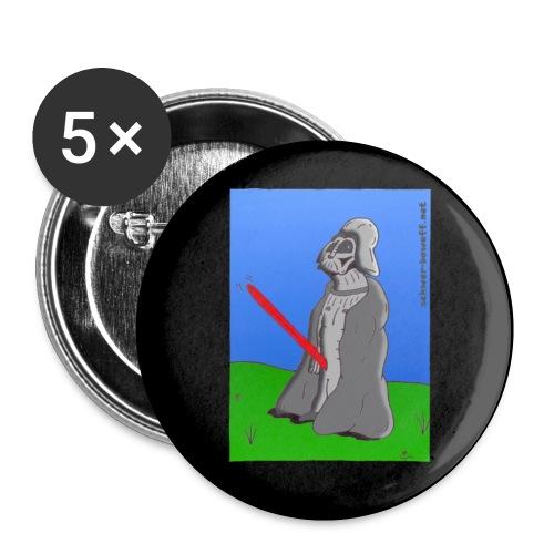 Darth Vader Cartoon Button - Buttons klein 25 mm (5er Pack)