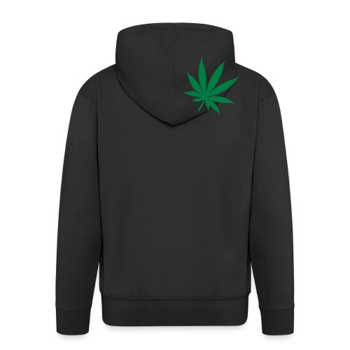 Back Hash - Men's Premium Hooded Jacket