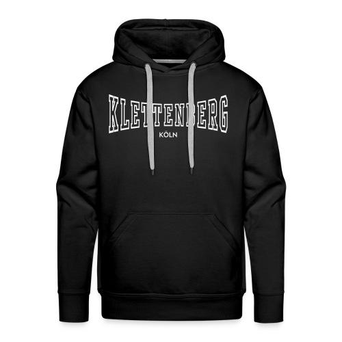 Klettenberg Outline Kapuzenshirt (schwarz/weiß) - Männer Premium Hoodie