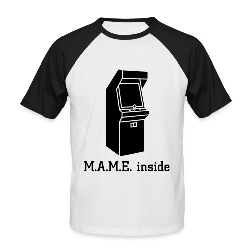 MAME inside - T-shirt baseball manches courtes Homme