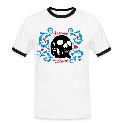 Super Koszulka  - Koszulka męska z kontrastowymi wstawkami