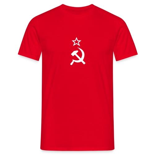 Hammer+Sichel - Männer T-Shirt