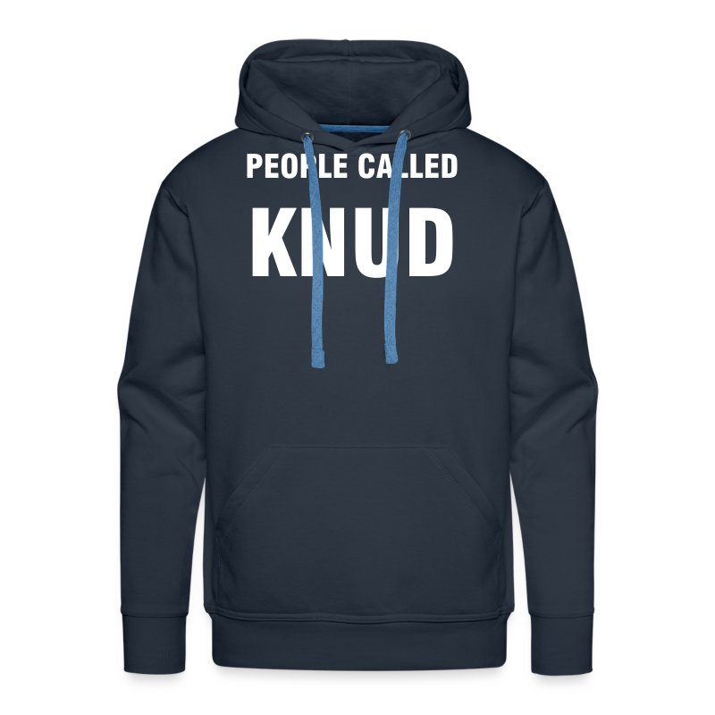 Peple called Knud - Men's Premium Hoodie