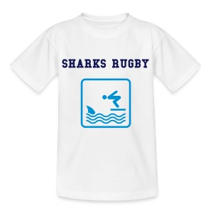 MY UNCLE KIDS SHARK TEE - Teenage T-shirt