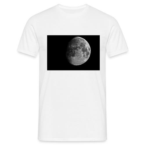 zunehmender Mond - Männer T-Shirt