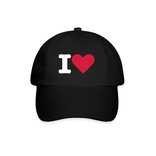 I hart wiz rock cap - Baseball Cap
