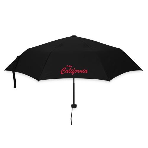 Regenschirm ENJOY CALIFORNIA schwarz - Regenschirm (klein)