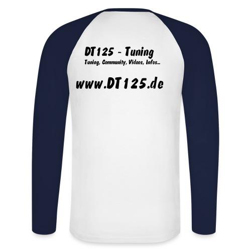 T-Long Sleeve DT125-Tuning hinten - Männer Baseballshirt langarm