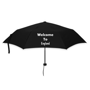 Welcome to England - Umbrella (small)