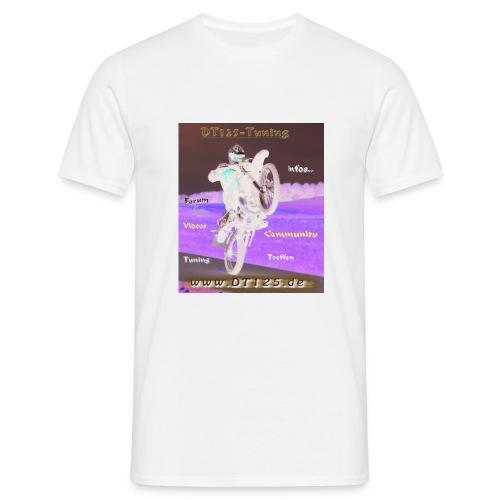 Wheelie-T-Shirts weiß - Männer T-Shirt