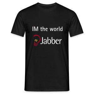 I'M the world - Jabber - Männer T-Shirt