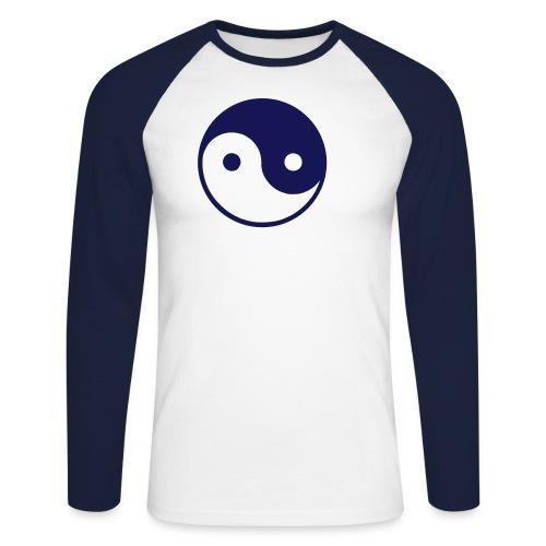 YingYang - Männer Baseballshirt langarm