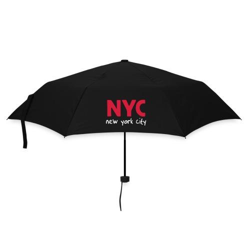 Regenschirm NYC schwarz - Regenschirm (klein)